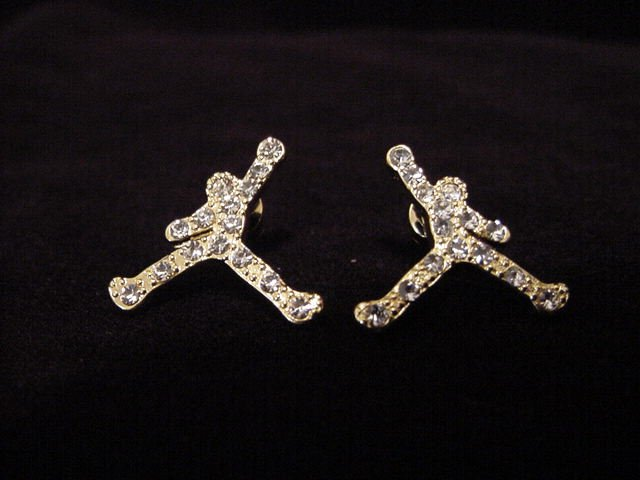 B-Ball Air Earrings