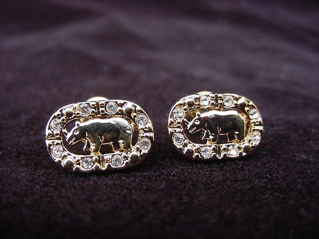 Ecko Logo Earrings