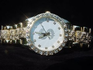 Paved Dollar Sign-White Background Watch