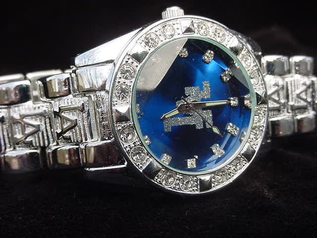 Paved LA - blue background Watch