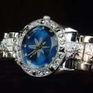 Paved Marijuana - blue background Watch