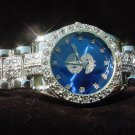 Paved Dollar Sign - blue background Watch