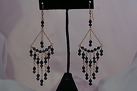 Nita Chandelier Earrings