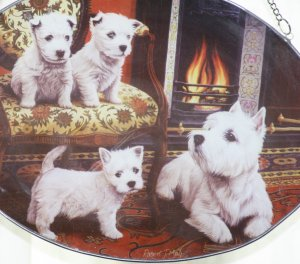 West Highland Terriers Suncatcher/Wall Hanging