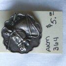 Silvertone Horse Pin