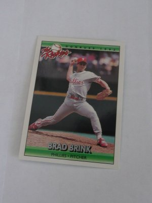 Brad Brink Baseball Card