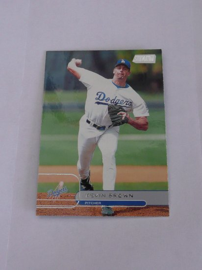 Kevin Brown Baseball Card