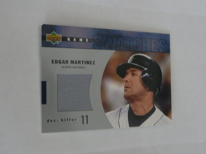 Edgar Martinez Baseball Card