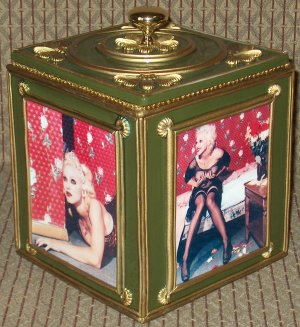 MADONNA Custom-Designed Bookshelf CD Storage Box #2