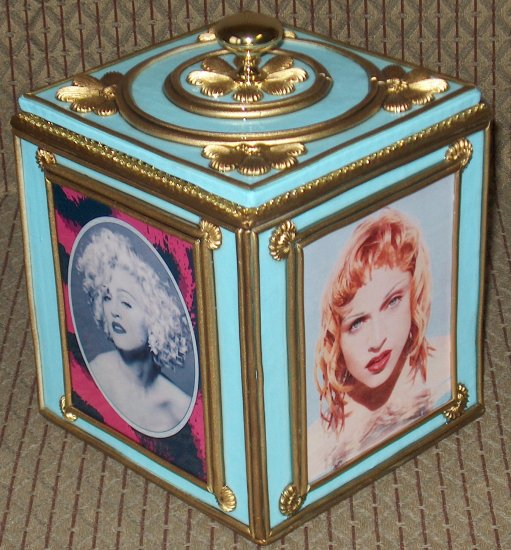 MADONNA Custom-Designed Bookshelf CD Storage Box #4