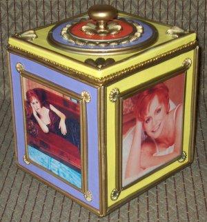 REBA MCENTIRE Custom-Designed Bookshelf CD Storage Box