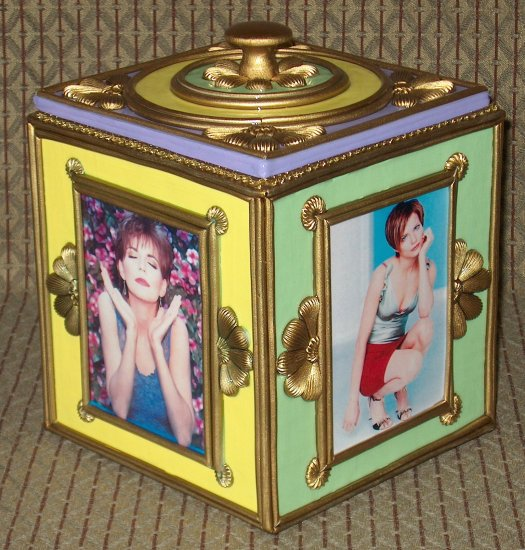 MARTINA MCBRIDE Custom-Designed Bookshelf CD Storage Box