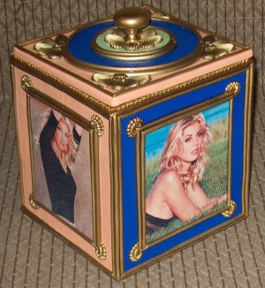 FAITH HILL Custom-Designed Bookshelf CD Storage Box