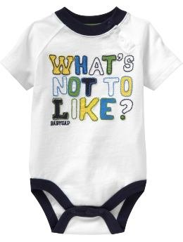 Baby Gap Romper - What's Not to Like? (6-12M)