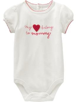 Baby Gap Romper - My Love Belong to Mommy (3-6M)