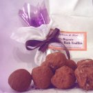 100% Organic Chocolate Bath Truffles