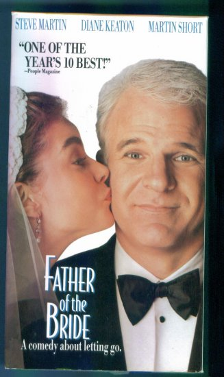 Father of the Bride ~ Steve Martin Diane Keaton Martin Short ~ Comedy Vhs Tape Video