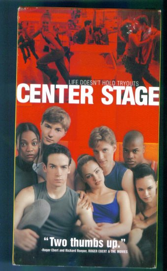 Center Stage ~ Amanda Scull Zoe Saldana Peter Gallagher ~ Dance Drama Vhs Tape Video
