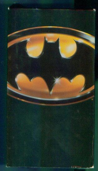 Batman ~ Jack Nicholson Michael Keaton Kim Basinger ~ Family Vhs Video