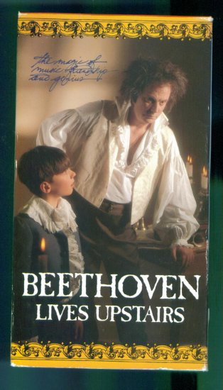 Beethoven Lives Upstairs ~ Neil Munro Fiona Reid Illya Woloshyn ~ Family Drama Vhs Video