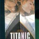 Titanic Wide Screen James Cameron ~ Leonardo DiCaprio Kate Winslet ~ Romance Family Drama Vhs
