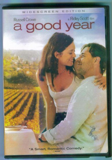 A Good Year ~ Russell Crowe Marion Cotillard ~ Romance DVD