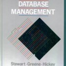RECORDS & DATABASE MANAGEMENT Stewart Greene Hickey College Text Book Fourth Edition locationO3