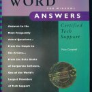 OSBORNE'S WORD FOR WINDOWS ANSWERS Certified Tech Support Mary Campbell locationO6