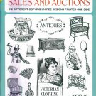 Ready To Use CUTS FOR ANTIQUE SALES AND AUCTIONS Dover Clip Art Carol Belanger Grafton locationO6