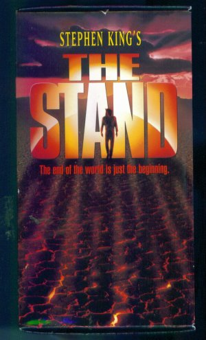 Stephen King&#039;s The Stand Set The Plague The Dreams The Betrayal The Stand VHS Sci Fi Fantasy Box1