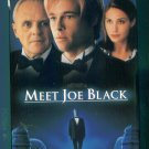 Meet Joe Black Brad Pitt Claire Forlani Jake Weber Anthony Hopkins Romantic Fantasy VHS Video