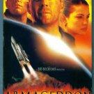 ARMAGEDDON Bruce Willis Ben Affleck Billy Bob Thornton Liv Tyler Action VHS location132