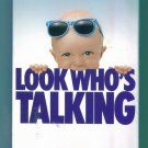 LOOK WHO'S TALKING John Travolta Kristie Alley Bruce Willis as Voice of Mikey Comedy VHS locatio132
