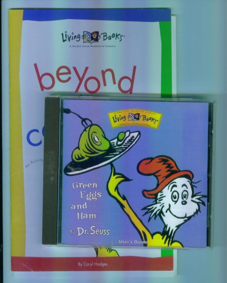 Living Books GREEN EGGS AND HAM Dr Suess With Activity Book for ...
