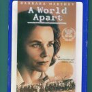 A WORLD APART Barbara Hershey Drama Family VHS 1M
