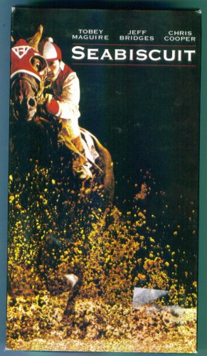 SEABISCUIT Tobey Maguire Jeff Bridges Chris Cooper Drama VHS 1M