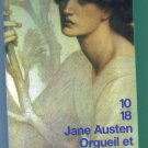 JANE AUSTEN ORGUEIL ET PREJUGES DOMAINE ETRANGER French Textbook Reader Pride and Prejudice 1M