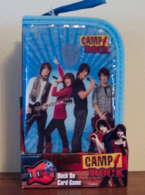 NEW DISNEY CAMP ROCK ROCK ON CARD GAME 7 AND UP CARDINAL INDUSTRIES