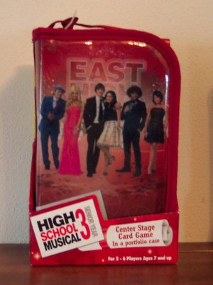 NEW DISNEY HIGH SCHOOL MUSICAL 3 SENIOR YEAR CENTER STAGE CARD GAME 7 AND UP CARDINAL