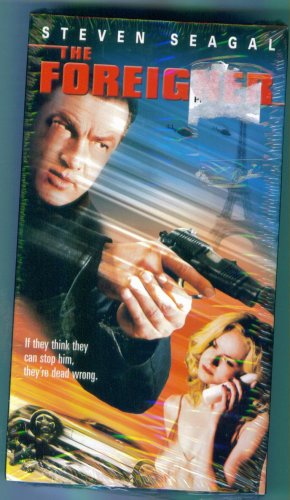 THE FOREIGNER Steven Segal Action Adventure VHS