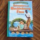 ADVENTURES OF HUCKLEBERRY FINN Mark Twain Treasury of Illustrated Classics