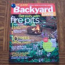 BACKYARD LIVING Fire Pits November December 2006 Back Issue Gardening Magazine loc14