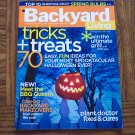 BACKYARD LIVING Tricks + Treats September October 2006 Back Issue Gardening Magazine loc14