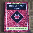 Teacher Created Materials Inc THE ABC'S OF WHOLE LANGUAGE Pamela Perkins TCM 844 Loc14
