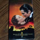 GONE WITH THE WIND 2 Tape Set Clark Gable Vivien Leigh Leslie Howard Classic Family VHS Movie