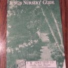 Jung's Nursery Guide Vintage Gardening Book Fruit Trees Shrubs Hedges Roses