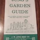 Jung's Garden Guide Vintage Gardening Book Vegetables Flowers Herbs