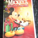 Disney's MICKEY'S ONCE UPON A CHRISTMAS Childrens  Family VHS Movie 2M