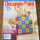 DECORATE WITH PAINT July 2003 Paint Techniques How To Back Issue Magazine