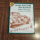 MAKE WAY FOR DUCKLINGS Robert McCloskey Caldecott Award Book Childrens Books location101